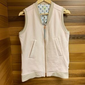 Lululemon Departure Layering Vest in Parfait Pink